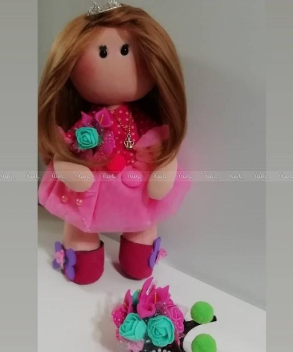 عروسک روسی صورتی-تصویر اصلی