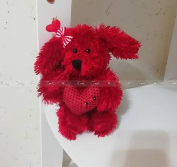 عروسک هاپو قرمز-تصویر اصلی