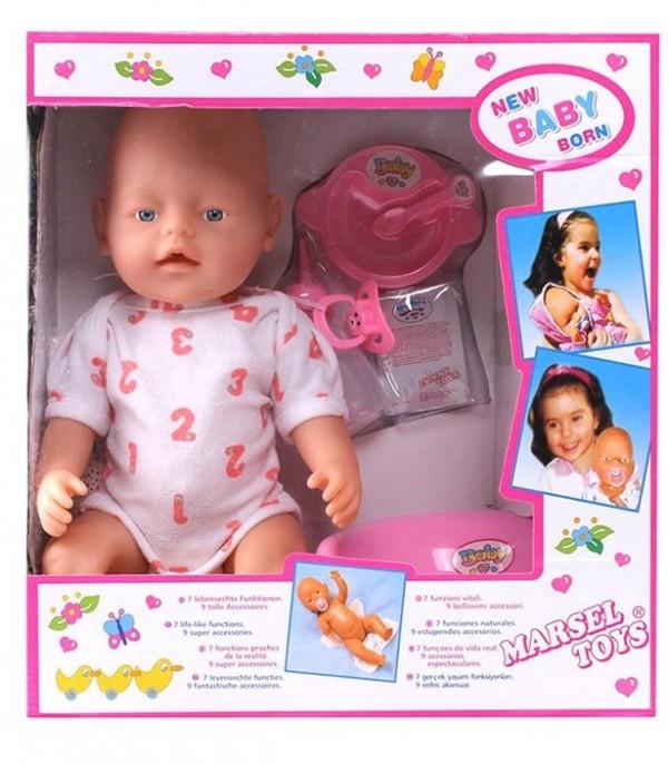 عروسک بی بی بورن مدل نوزاد-تصویر اصلی