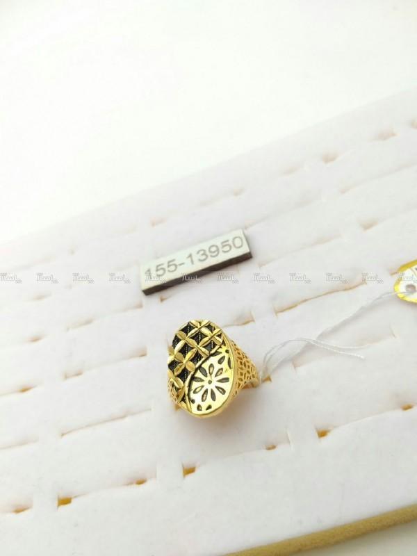 انگشتر برنجی طرح طلا-تصویر اصلی