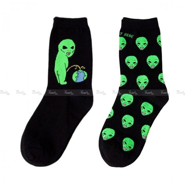جوراب ساقدار تا به تای فضایی-تصویر اصلی