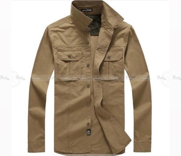 پیراهن آستین بلند مارک جیپ-تصویر اصلی
