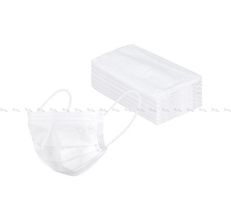 ماسک تنفسی سه لایه فیس ماسک بسته 50 عددی-تصویر اصلی