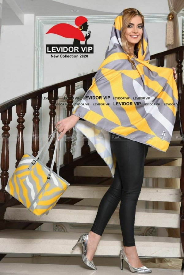 ست کیف روسری زرد-تصویر اصلی