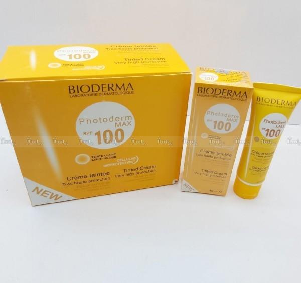 ضد آفتاب بیودرما 100رنگی