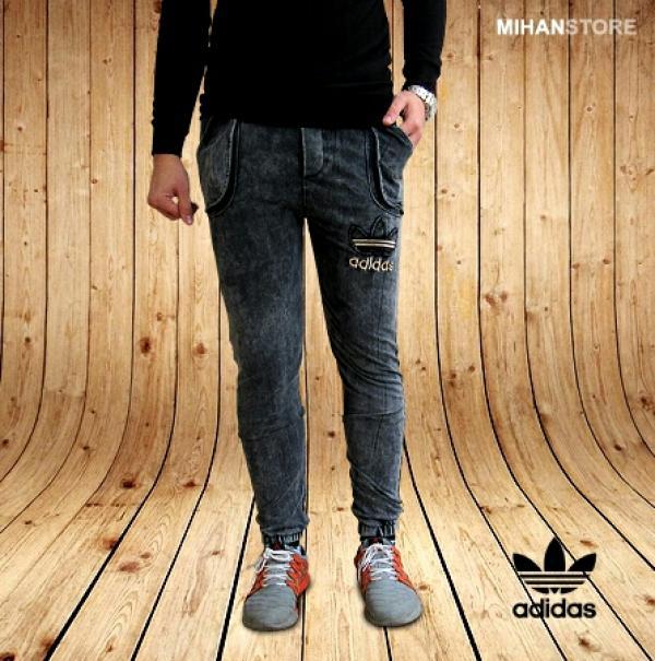 شلوار اسلش طرح جین Adidas-تصویر اصلی
