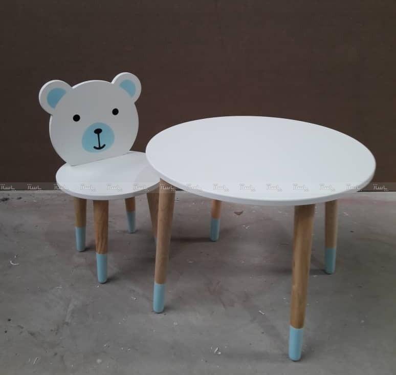 میز و صندلی خرسی-تصویر اصلی