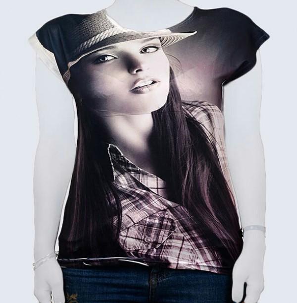 تی شرت تصویری زنانه کد 0110-تصویر اصلی