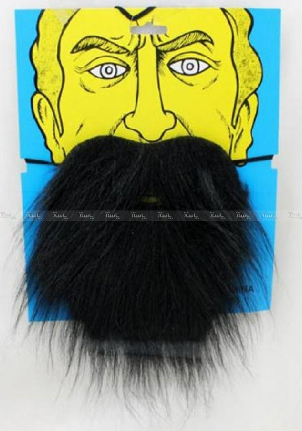 ریش و سیبیل نمایشی مدل ریش کوتاه سیاه دنیای سرگرمی های کمیاب-تصویر اصلی