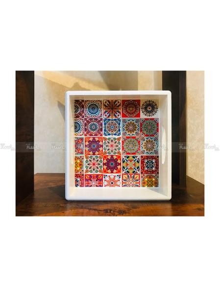 سینی چوبی مربع-تصویر اصلی