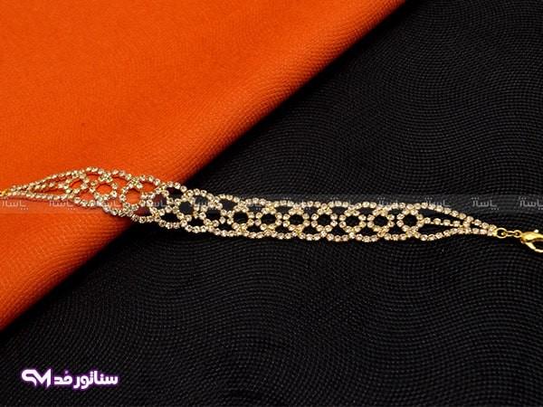 دستبند زنانه نگین دار سناتورمد DZ1045-تصویر اصلی
