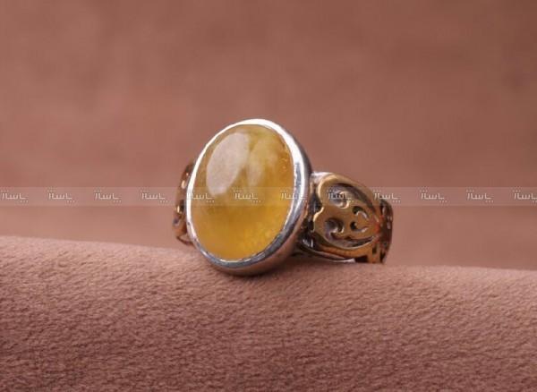 انگشتر یاقوت زرد اصل-تصویر اصلی