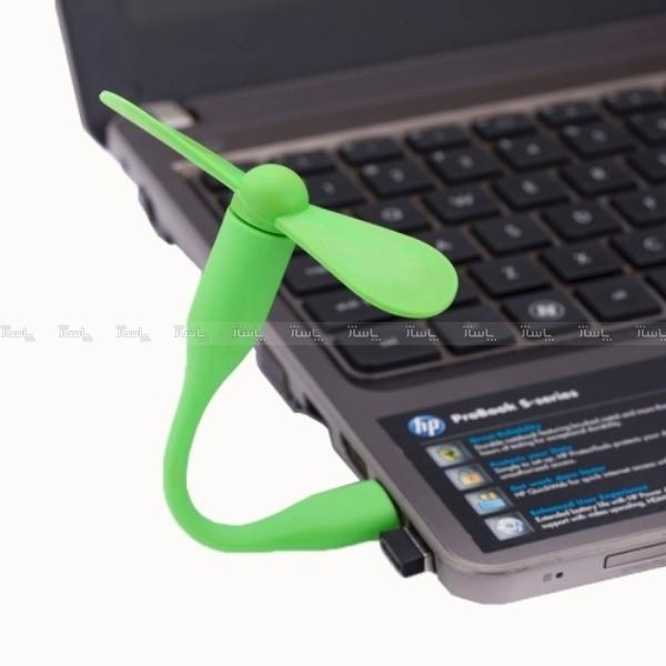 پنکه همراه انعطاف پذیر USB-تصویر اصلی