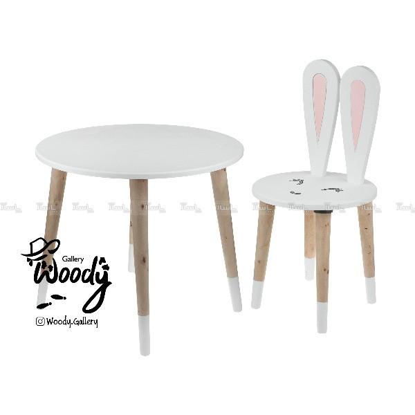 ست میز و صندلی کودک مدل خرگوش-تصویر اصلی