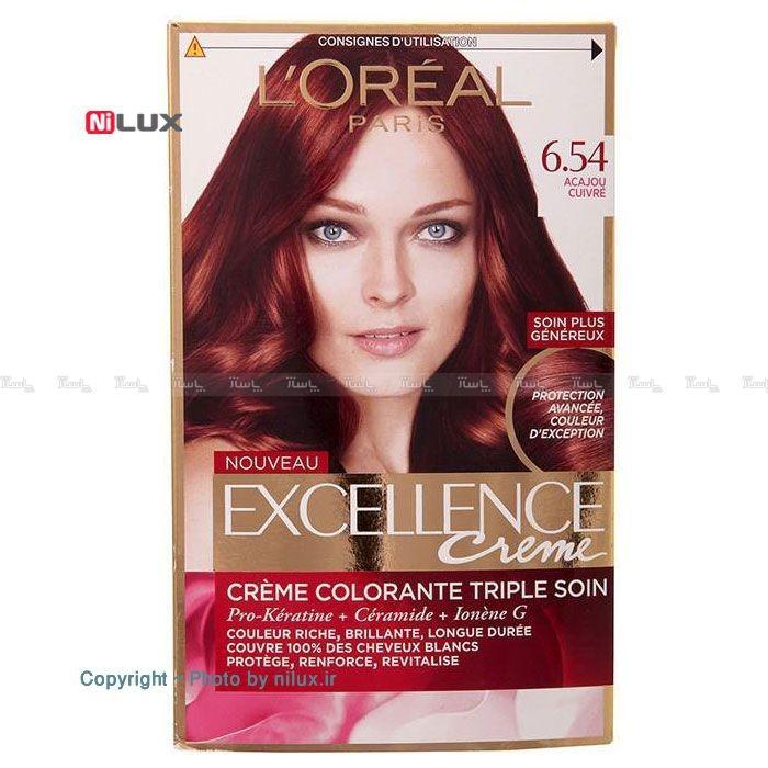 کیت رنگ موی لورآل سری Excellence شماره 6.54-تصویر اصلی