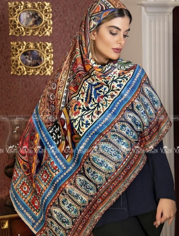 روسری نخی ترکطرح نگاره-تصویر اصلی