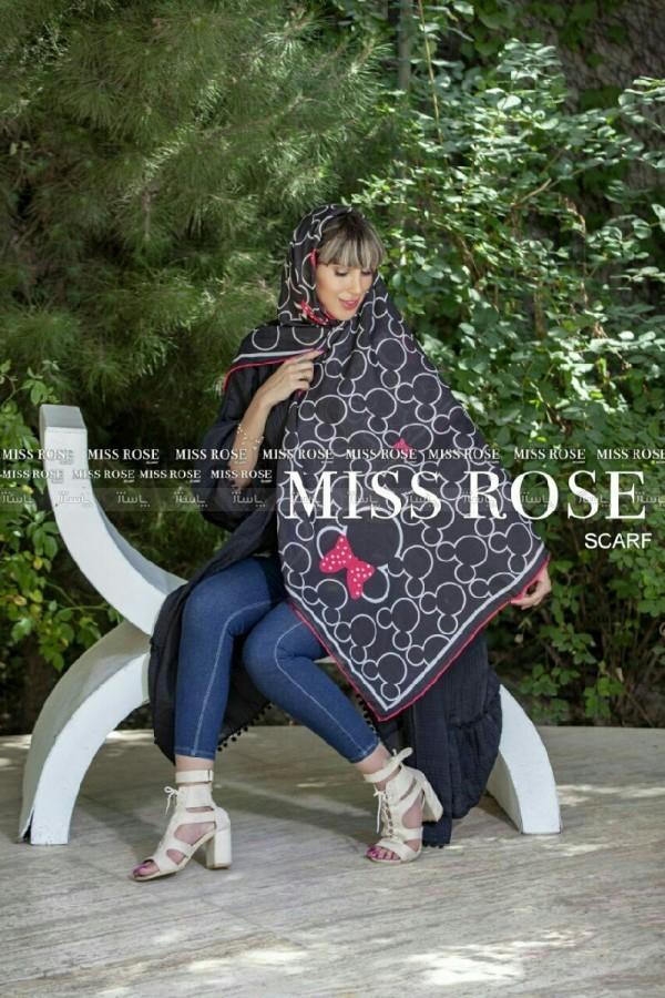 روسری نخی میس رز-تصویر اصلی