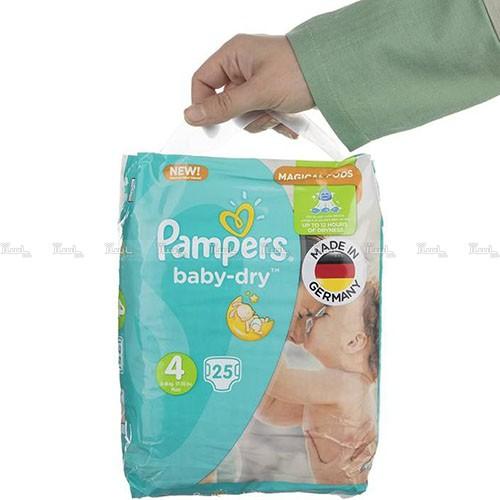 پوشک پمپرز مدل New Baby Dry سایز 4 بسته 25 × 2 عددی-تصویر اصلی