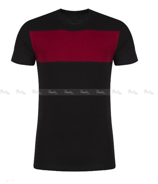 تیشرت آستین کوتاه مردانه مدل nek1 رنگ مشکی-تصویر اصلی