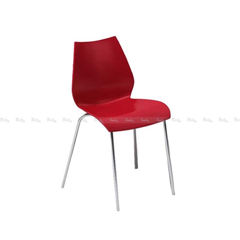 صندلی انتظار پایه استیل فلورا آذران تحریرات-تصویر اصلی