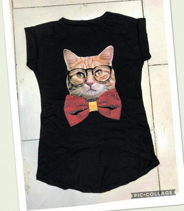تیشرت گربه-تصویر اصلی