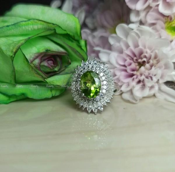 انگشتر نقره زنانه الکساندریت فوق العاده زیبا کد200-تصویر اصلی