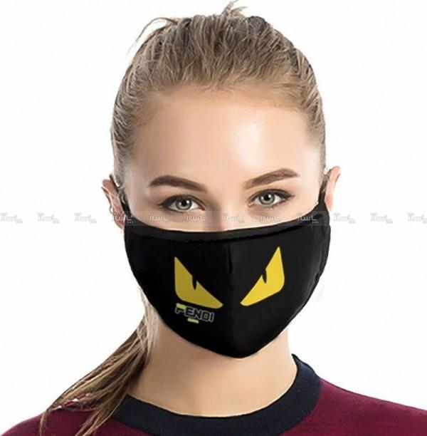 ماسک تنفسی پارچه ای برند Fendi-تصویر اصلی