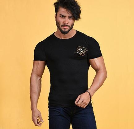 تیشرت مردانه طرح Golden S-تصویر اصلی