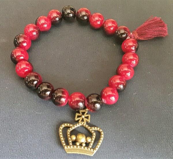 سری دستبندهای رنگی،قرمز3 کد:MP0041-تصویر اصلی