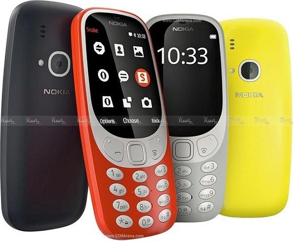 گوشی پاوربانکی و سه سیمکارت Nokia 3310 Plus