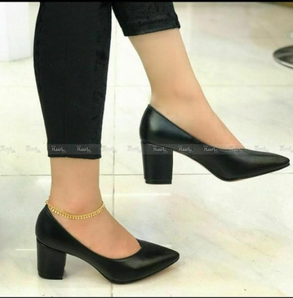 کفش راحتی پاشنه ۵ سانت-تصویر اصلی