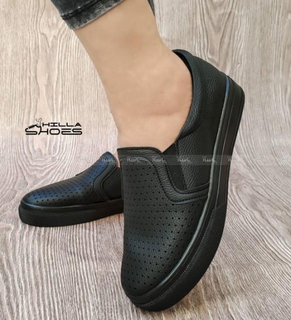 کفش ونس سوزنی لژدار مشکی-تصویر اصلی