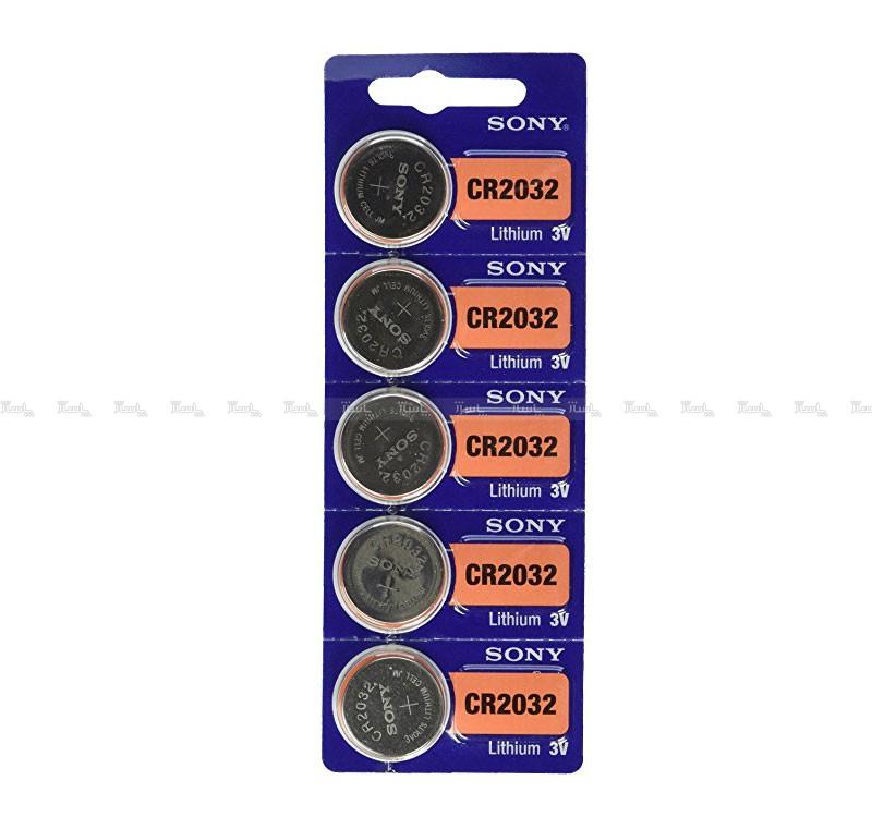 باتری سکه ای SONY 2032 اورجینال بسته ۵ تایی-تصویر اصلی