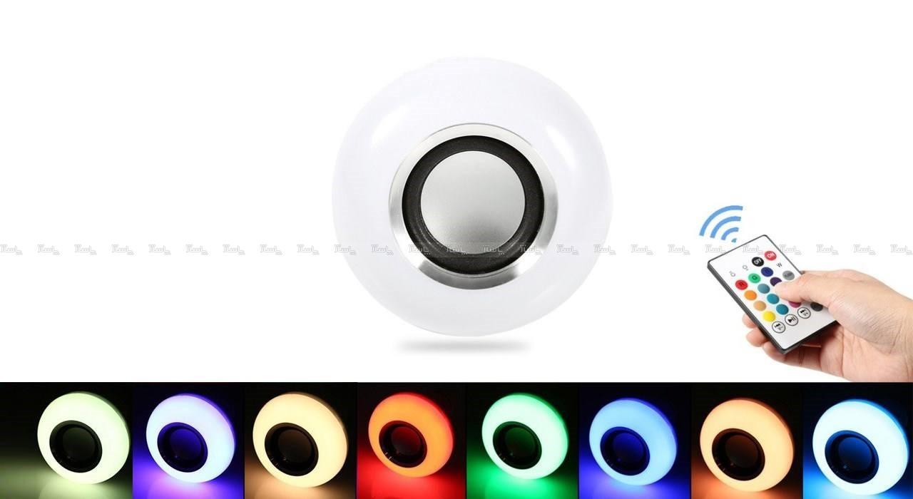 چراغ LED موزیکال دارای اسپیکر بلوتوثی-تصویر اصلی