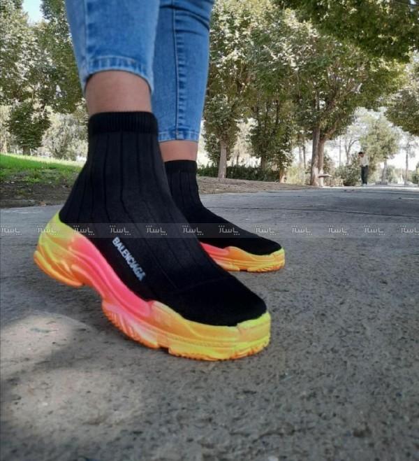 کفش بالنسیاگا بافتی-تصویر اصلی
