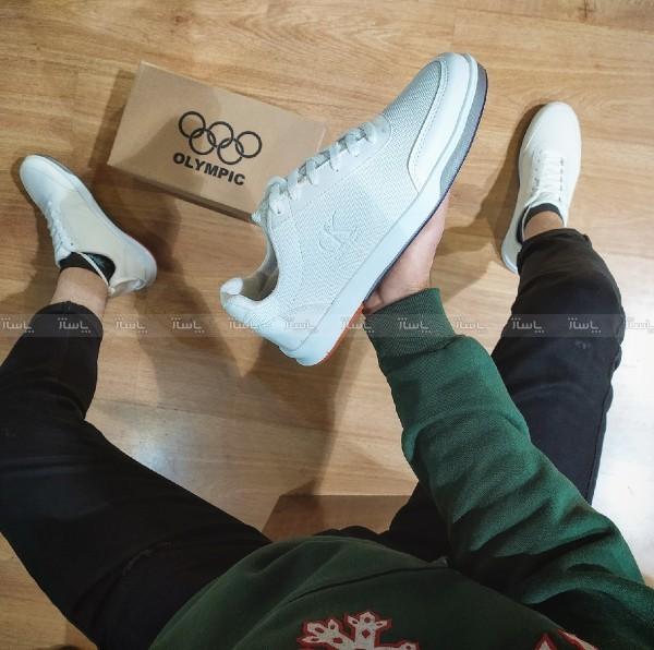 کفش کتانی کلوین سفید-تصویر اصلی