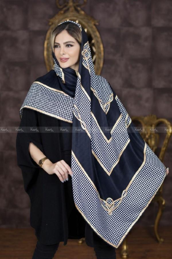 روسری نخی پاییزه طرحدار ۲-تصویر اصلی