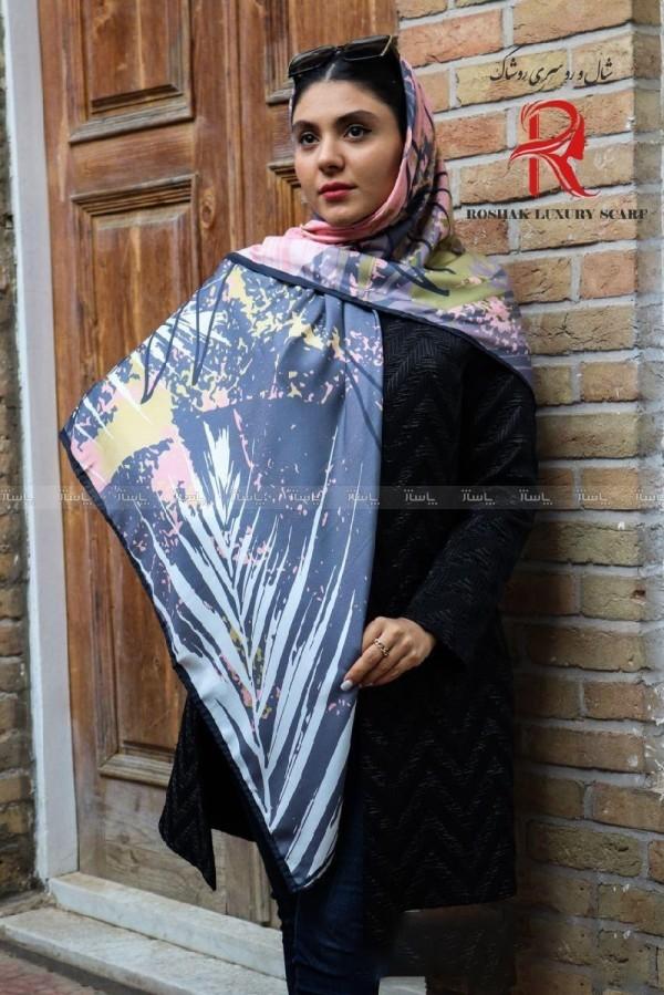 روسری نخی پاییزه طرحدار-تصویر اصلی