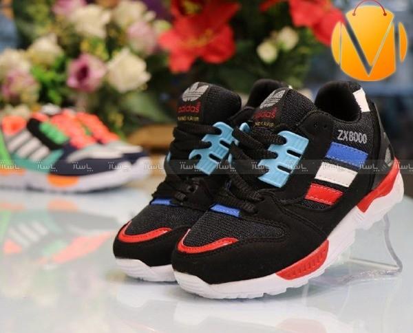 کفش ورزشی کویر سه خط رنگی-تصویر اصلی