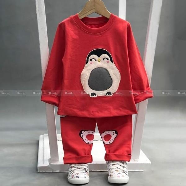 بلوز شلوار پنگوئن لپ صورتی-تصویر اصلی