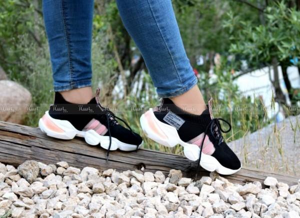 کفش کتونی بافت دو خط-تصویر اصلی