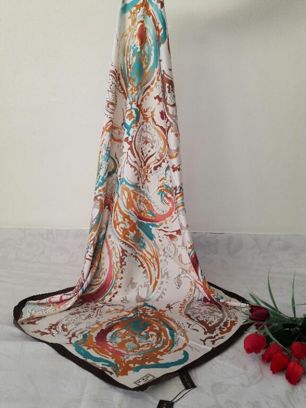 روسری ساتن hps کد ۲۴۰۱-تصویر اصلی