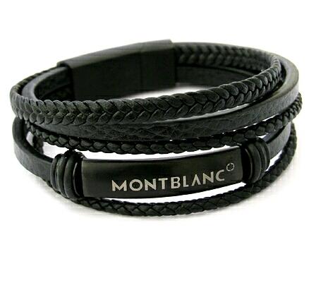 دستبند چرم طرح Montblanc-تصویر اصلی