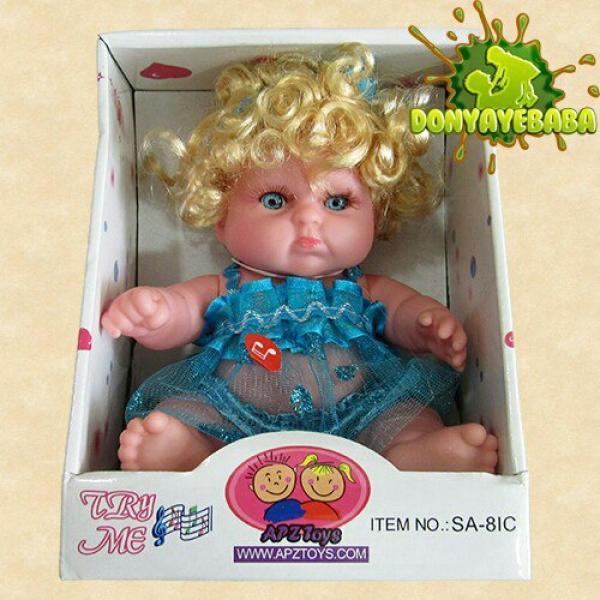 عروسک دختر موزیکال کد SA8IC002-تصویر اصلی