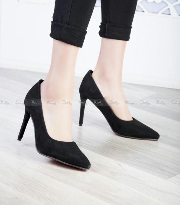کفش مجلسی مخملی-تصویر اصلی