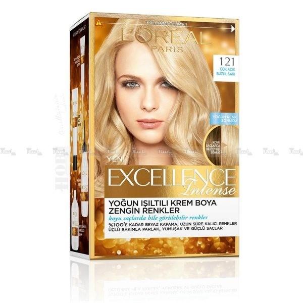 کیت رنگ موی لورآل پاریس مدل Excellence شماره 121-تصویر اصلی