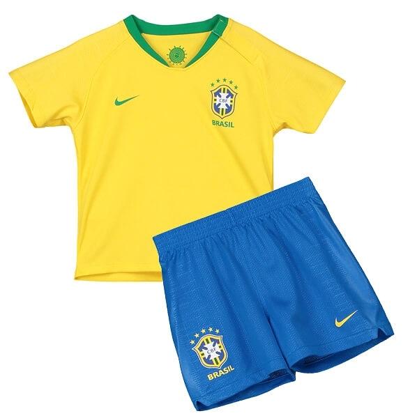 پیراهن شورت پسرانه برزیل 2018-تصویر اصلی