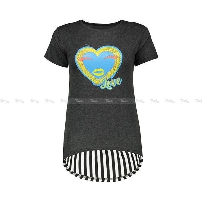 تیشرت زنانه طرح love کد ۷۹۲-تصویر اصلی