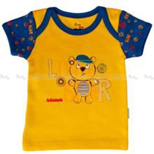 تی شرت آستین کوتاه نوزادی آدمک مدل Little Bear-تصویر اصلی
