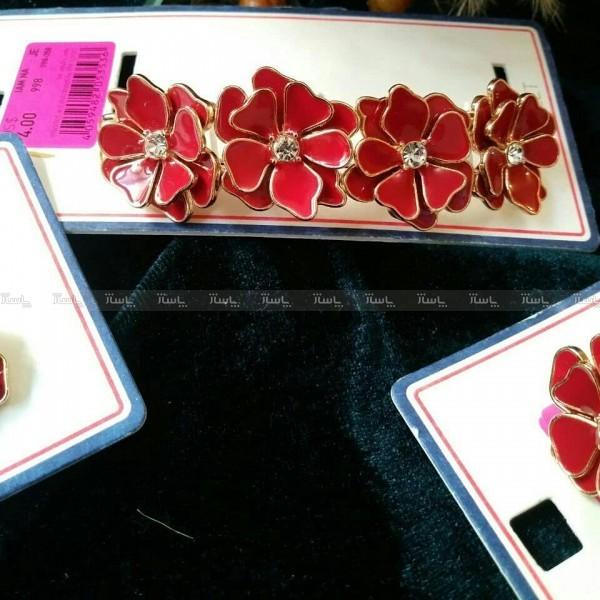 ست انگشتر , گوشواره و دستبند شکوفه-تصویر اصلی